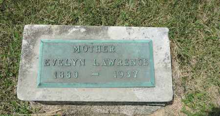 LAWRENCE, EVELYN - Franklin County, Ohio | EVELYN LAWRENCE - Ohio Gravestone Photos