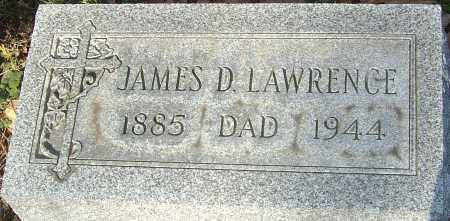 LAWRENCE, JAMES D - Franklin County, Ohio | JAMES D LAWRENCE - Ohio Gravestone Photos