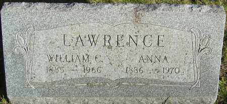 LAWRENCE, ANNA - Franklin County, Ohio | ANNA LAWRENCE - Ohio Gravestone Photos