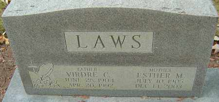 LAWS, ESTHER M - Franklin County, Ohio | ESTHER M LAWS - Ohio Gravestone Photos