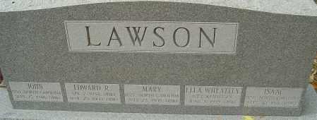 LAWSON, ELLA - Franklin County, Ohio | ELLA LAWSON - Ohio Gravestone Photos
