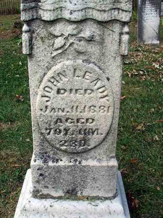 LEADY, JOHN - Franklin County, Ohio | JOHN LEADY - Ohio Gravestone Photos