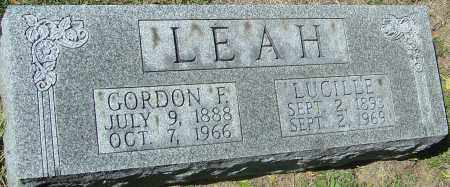 LEAH, LUCILLE - Franklin County, Ohio | LUCILLE LEAH - Ohio Gravestone Photos