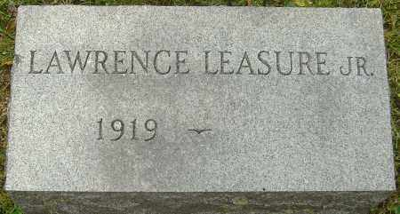 LEASURE JR, LAWRENCE - Franklin County, Ohio | LAWRENCE LEASURE JR - Ohio Gravestone Photos