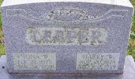 LEEPER, HARRY - Franklin County, Ohio | HARRY LEEPER - Ohio Gravestone Photos