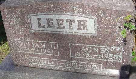 LEETH, LAURA AGNES - Franklin County, Ohio   LAURA AGNES LEETH - Ohio Gravestone Photos