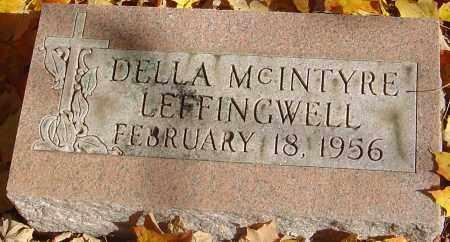 MCINTYRE LEFFINGWELL, DELLA - Franklin County, Ohio | DELLA MCINTYRE LEFFINGWELL - Ohio Gravestone Photos