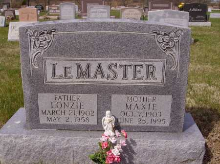KING LEMASTER, MAXIE - Franklin County, Ohio | MAXIE KING LEMASTER - Ohio Gravestone Photos