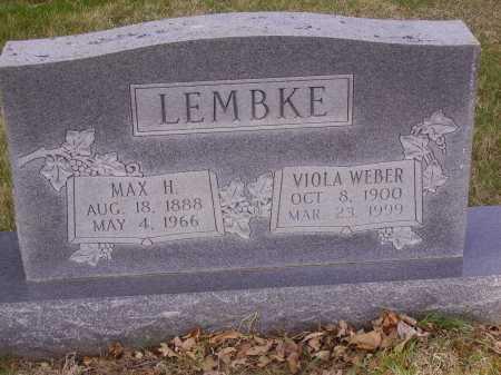 LEMBKE, MAX H. - Franklin County, Ohio | MAX H. LEMBKE - Ohio Gravestone Photos