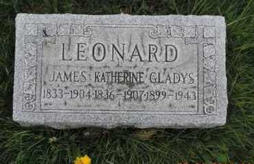 LEONARD, KATHERINE - Franklin County, Ohio | KATHERINE LEONARD - Ohio Gravestone Photos