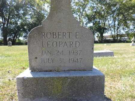 LEOPARD, ROBERT E. - Franklin County, Ohio | ROBERT E. LEOPARD - Ohio Gravestone Photos