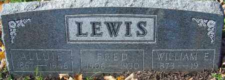 LEWIS, ALLUIE - Franklin County, Ohio | ALLUIE LEWIS - Ohio Gravestone Photos