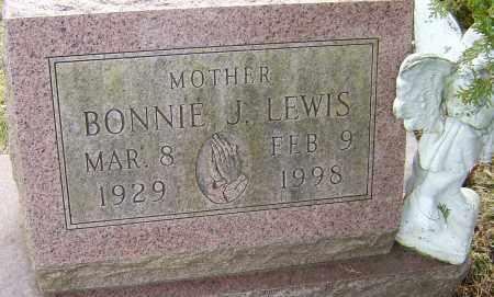 LEWIS, BONNIE J - Franklin County, Ohio | BONNIE J LEWIS - Ohio Gravestone Photos