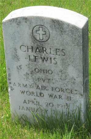 LEWIS, CHARLES - Franklin County, Ohio | CHARLES LEWIS - Ohio Gravestone Photos