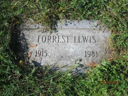 LEWIS, FORREST J - Franklin County, Ohio | FORREST J LEWIS - Ohio Gravestone Photos