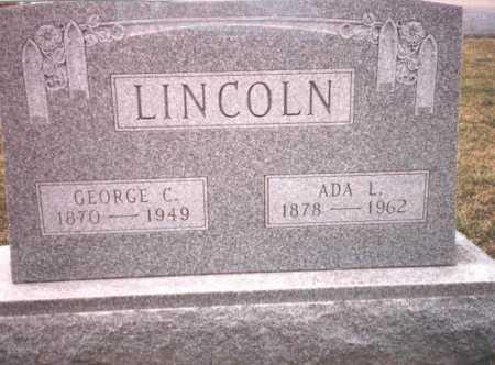 NIEBERLINE LINCOLN, ADA L. - Franklin County, Ohio | ADA L. NIEBERLINE LINCOLN - Ohio Gravestone Photos