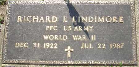 LINDIMORE, RICHARD E - Franklin County, Ohio | RICHARD E LINDIMORE - Ohio Gravestone Photos