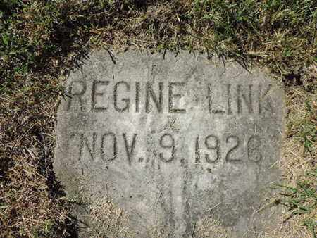 LINK, REGINE - Franklin County, Ohio | REGINE LINK - Ohio Gravestone Photos