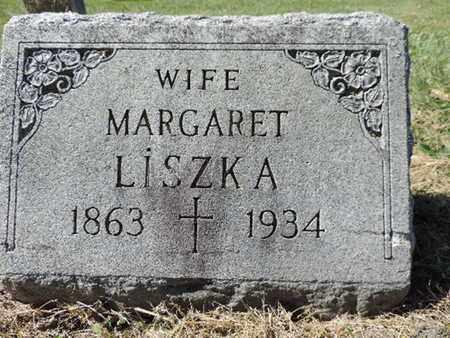 LISZKA, MARGARET - Franklin County, Ohio | MARGARET LISZKA - Ohio Gravestone Photos