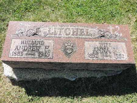 LITCHEL, ANNA V - Franklin County, Ohio | ANNA V LITCHEL - Ohio Gravestone Photos