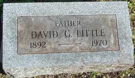 LITTLE, DAVID G - Franklin County, Ohio | DAVID G LITTLE - Ohio Gravestone Photos