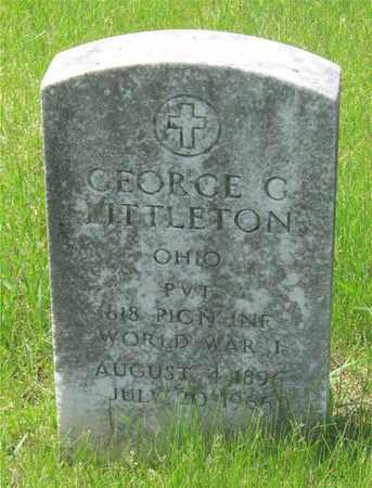 LITTLETON, GEORGE G. - Franklin County, Ohio | GEORGE G. LITTLETON - Ohio Gravestone Photos