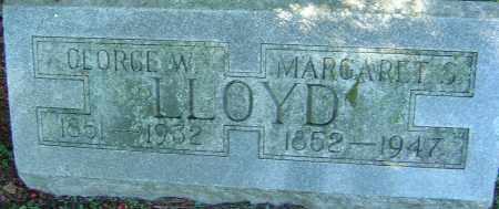 LLOYD, MARGARET S - Franklin County, Ohio | MARGARET S LLOYD - Ohio Gravestone Photos