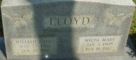 LLOYD, WILLIAM RUFUS - Franklin County, Ohio | WILLIAM RUFUS LLOYD - Ohio Gravestone Photos
