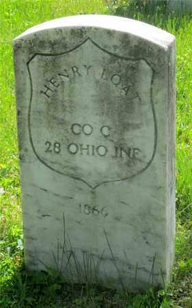 LOAT, HENRY - Franklin County, Ohio   HENRY LOAT - Ohio Gravestone Photos