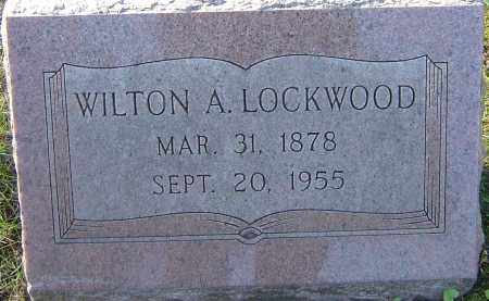 LOCKWOOD, WILTON A - Franklin County, Ohio | WILTON A LOCKWOOD - Ohio Gravestone Photos