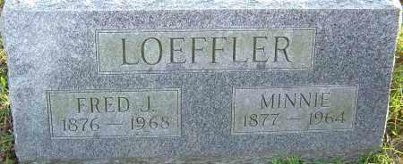 LOEFFLER, FRED - Franklin County, Ohio | FRED LOEFFLER - Ohio Gravestone Photos