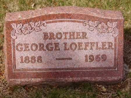LOEFFLER, GEORGE - Franklin County, Ohio | GEORGE LOEFFLER - Ohio Gravestone Photos