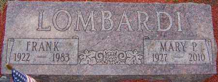 LOMBARDI, MARY P - Franklin County, Ohio | MARY P LOMBARDI - Ohio Gravestone Photos