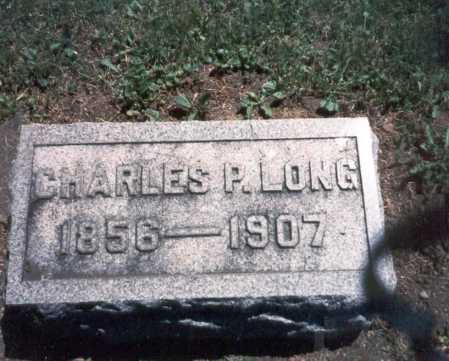 LONG, CHARLES P. - Franklin County, Ohio | CHARLES P. LONG - Ohio Gravestone Photos