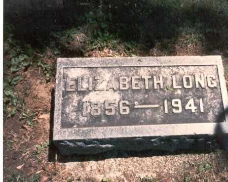 BUNN LONG, ELIZABETH - Franklin County, Ohio | ELIZABETH BUNN LONG - Ohio Gravestone Photos