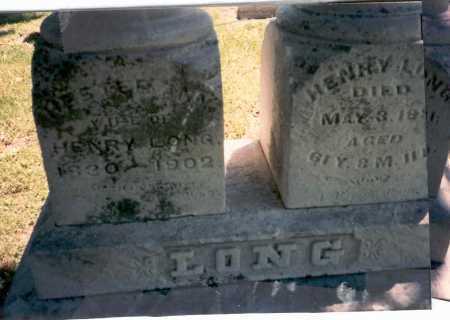 LONG, HESTER ANN - Franklin County, Ohio | HESTER ANN LONG - Ohio Gravestone Photos
