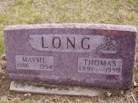 LONG, THOMAS - Franklin County, Ohio | THOMAS LONG - Ohio Gravestone Photos