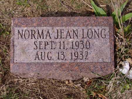 LONG, NORMA JEAN - Franklin County, Ohio   NORMA JEAN LONG - Ohio Gravestone Photos