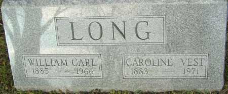 LONG, WILLIAM CARL - Franklin County, Ohio | WILLIAM CARL LONG - Ohio Gravestone Photos