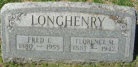 LONGHENRY, FLORENCE M - Franklin County, Ohio | FLORENCE M LONGHENRY - Ohio Gravestone Photos