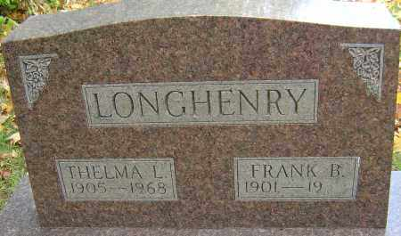 ROGERS LONGHENRY, THELMA - Franklin County, Ohio | THELMA ROGERS LONGHENRY - Ohio Gravestone Photos