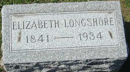 LONGSHORE, ELIZABETH - Franklin County, Ohio   ELIZABETH LONGSHORE - Ohio Gravestone Photos