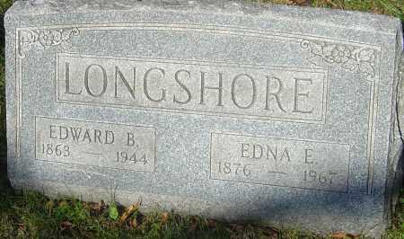 LONGSHORE, EDNA E - Franklin County, Ohio   EDNA E LONGSHORE - Ohio Gravestone Photos