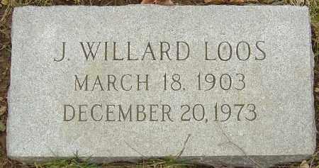LOOS, J WILLARD - Franklin County, Ohio | J WILLARD LOOS - Ohio Gravestone Photos