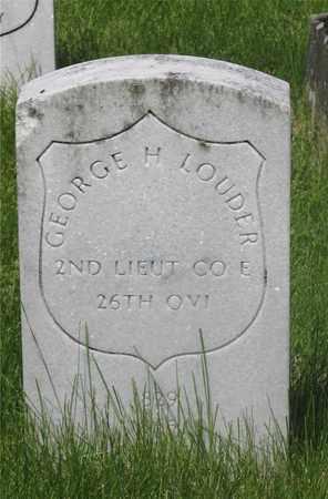 LOUD, GEORGE H. - Franklin County, Ohio | GEORGE H. LOUD - Ohio Gravestone Photos