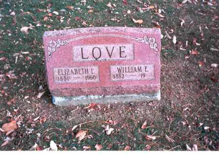 LOVE, WILLIAM E. - Franklin County, Ohio | WILLIAM E. LOVE - Ohio Gravestone Photos