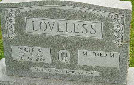LOVELESS, ROGER - Franklin County, Ohio   ROGER LOVELESS - Ohio Gravestone Photos