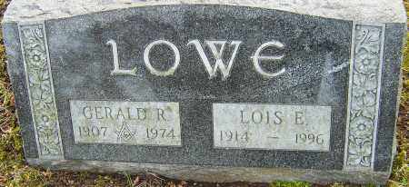 LOWE, LOIS E - Franklin County, Ohio | LOIS E LOWE - Ohio Gravestone Photos