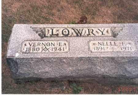 FAIR LOWRY, NELLE F. - Franklin County, Ohio   NELLE F. FAIR LOWRY - Ohio Gravestone Photos