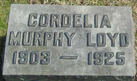 LOYD, CORDELIA - Franklin County, Ohio   CORDELIA LOYD - Ohio Gravestone Photos